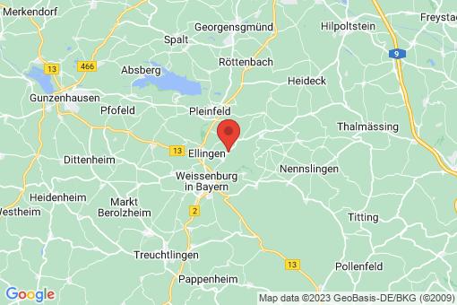 Karte Höttingen