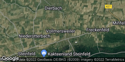Google Map of Vollmersweiler