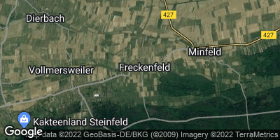 Google Map of Freckenfeld