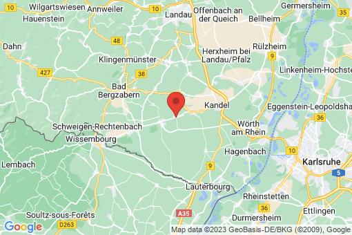 Karte Freckenfeld