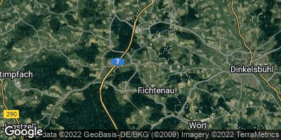 Google Map of Fichtenau