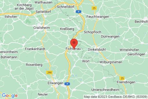 Karte Fichtenau
