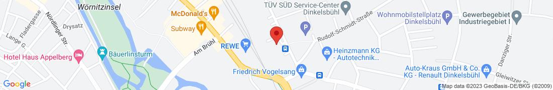BayWa Tankstelle Dinkelsbühl Anfahrt