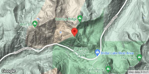 Kootenay Pass - Cornice Ridge