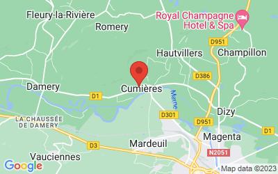 106 Rue Gaston Poittevin, 51480 Cumières, France