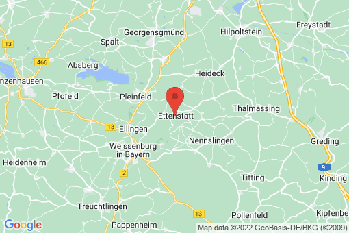 Karte Ettenstatt