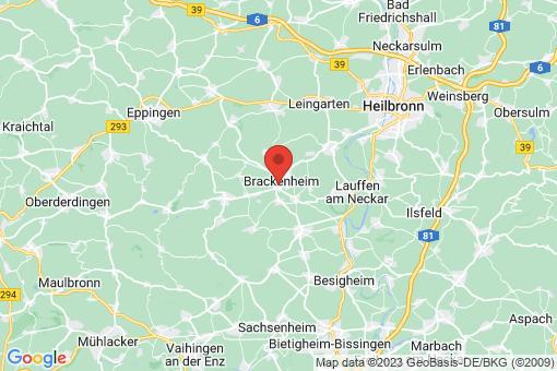 Karte Brackenheim