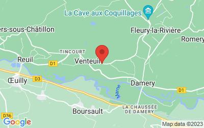 30 Route d'Arty, 51480 Venteuil, France