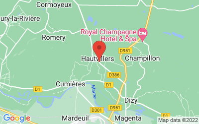 63 Rue des Côtes de Lhéry, 51160 Hautvillers, France