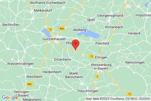 Karte Theilenhofen
