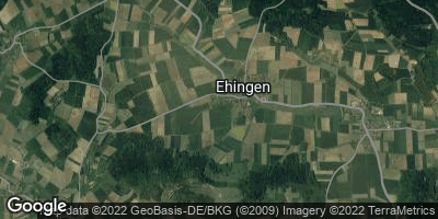Google Map of Ehingen
