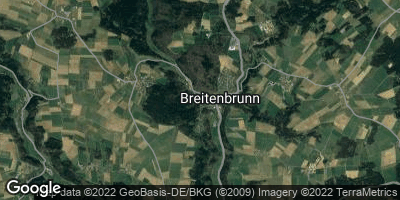 Google Map of Breitenbrunn