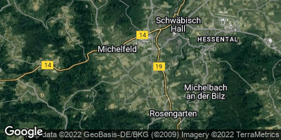 Google Map of Rosengarten