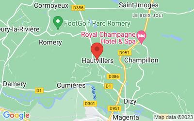 10 Place de la République, 51160 Hautvillers, France