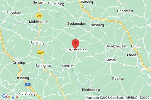 Karte Breitenbrunn
