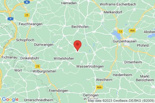 Karte Ehingen