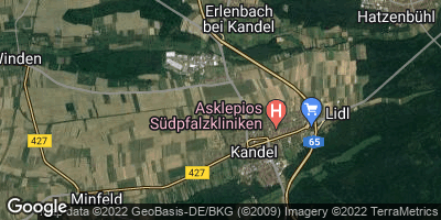 Google Map of Kandel