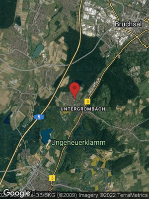 Google Map of Untergrombach