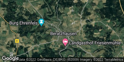 Google Map of Beratzhausen