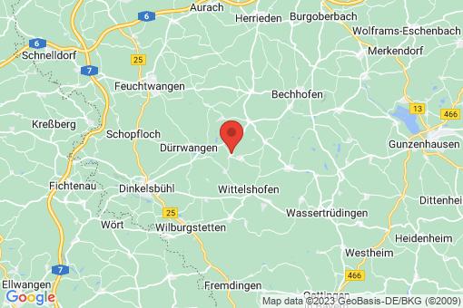 Karte Langfurth