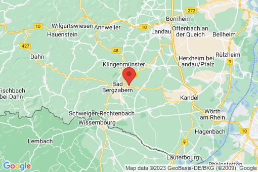 Karte Kapellen-Drusweiler