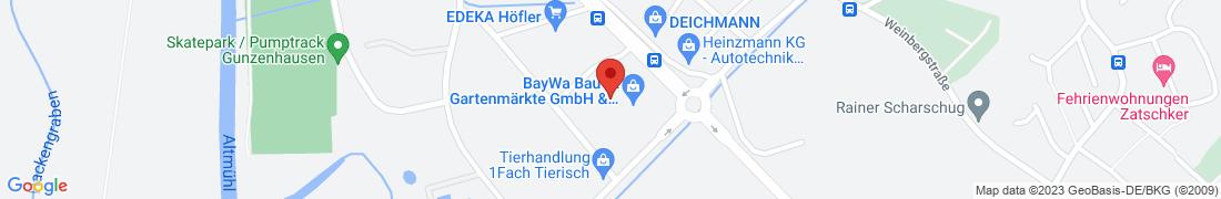 BayWa Baustoffe Gunzenhausen Anfahrt