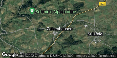 Google Map of Zaisenhausen