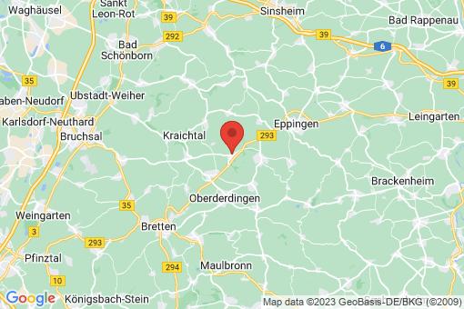 Karte Zaisenhausen