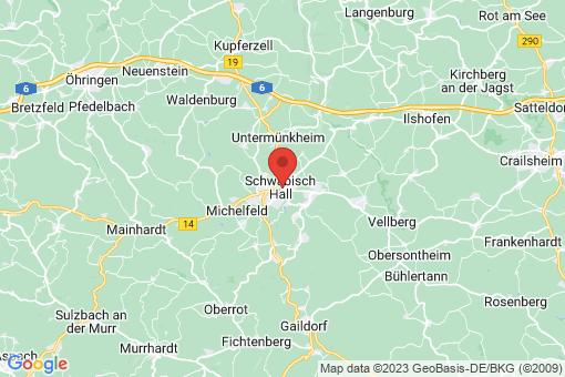 Karte Schwäbisch Hall