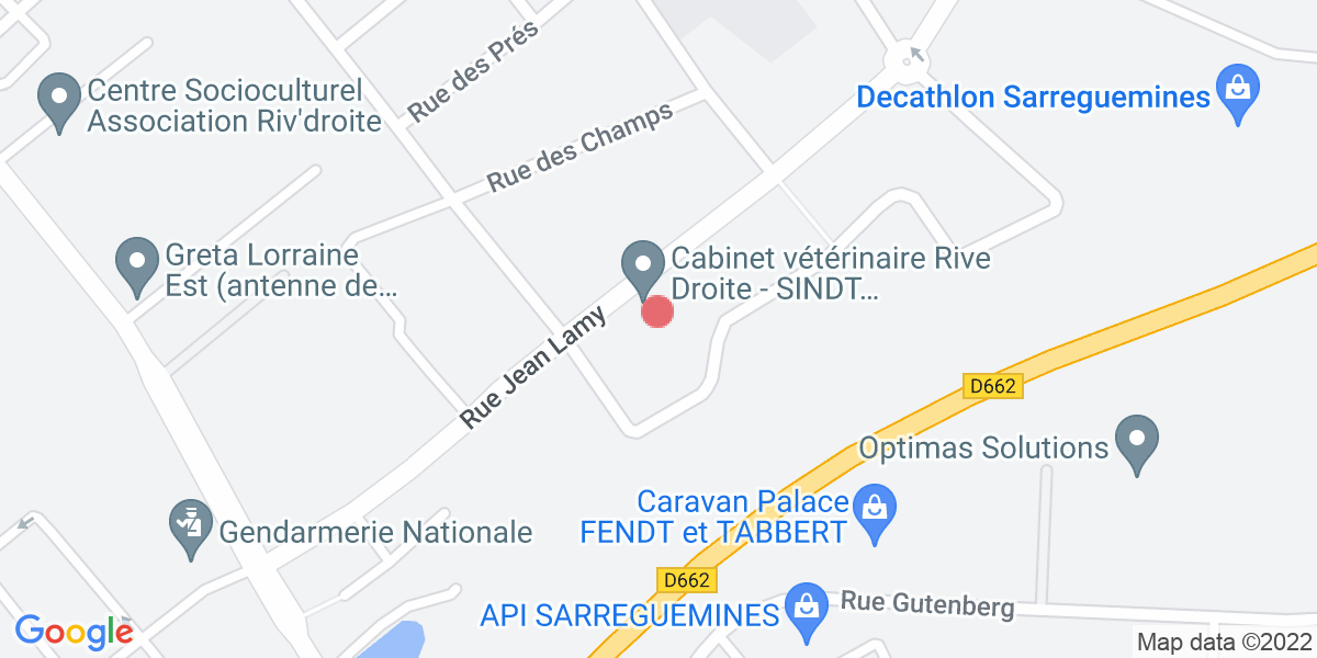 Plan de la clinique
