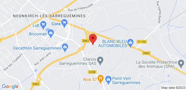 Entrepôt à louer à Sarreguemines (57) - 1680 m2