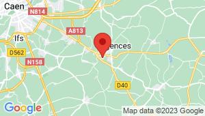 Carte de localisation du centre de contrôle technique Moult