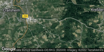 Google Map of Westgartshausen