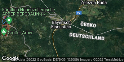 Google Map of Bayerisch Eisenstein