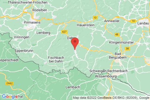 Karte Bruchweiler-Bärenbach