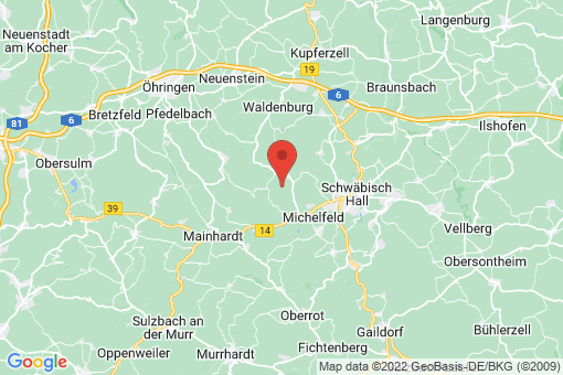 Karte Michelfeld