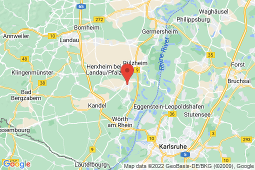 Karte Rheinzabern