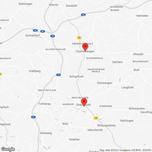 Statische Google Maps-Karte
