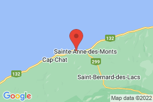 Map of Mount Sainte Anne