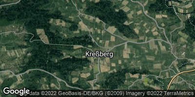 Google Map of Kreßberg