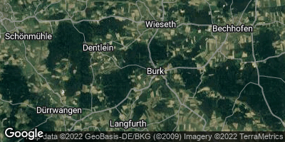 Google Map of Burk