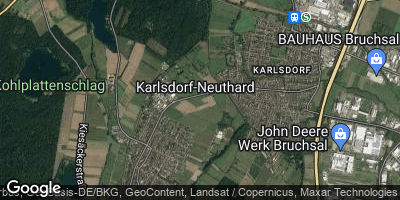 Google Map of Karlsdorf-Neuthard
