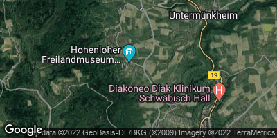 Google Map of Wackershofen