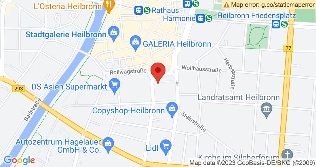 Google Map Sportteam Heilbronn