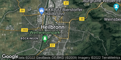 Google Map of Heilbronn