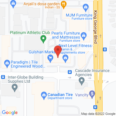 Theracore Health Services Static Google Map