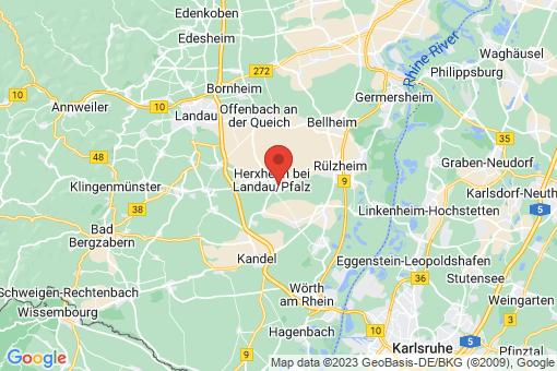 Karte Herxheim bei Landau/Pfalz
