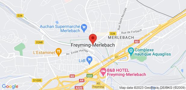 Local d'activités - à louer - 2 750 m² divisibles - Freyming-Merlebach (57)