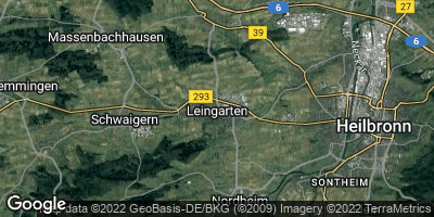 Google Map of Leingarten