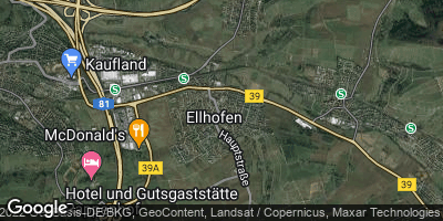 Google Map of Ellhofen